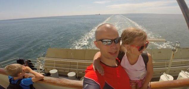 Bornholm z dziećmi na rowerach – Dzień 1