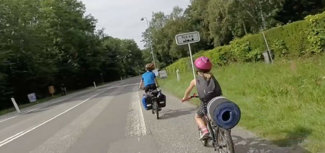 Bornholm z dziećmi na rowerach – Dzień 4