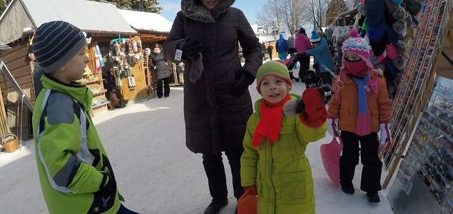 Z dziećmi zimą na Gubałówkę
