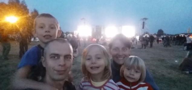 Cieszanów Rock Festiwal z dziećmi