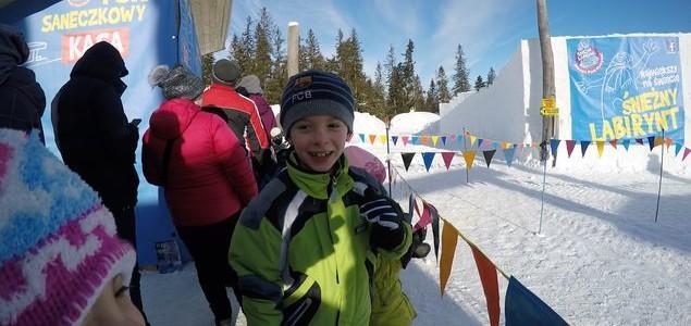 Największy na świecie śnieżny labirynt