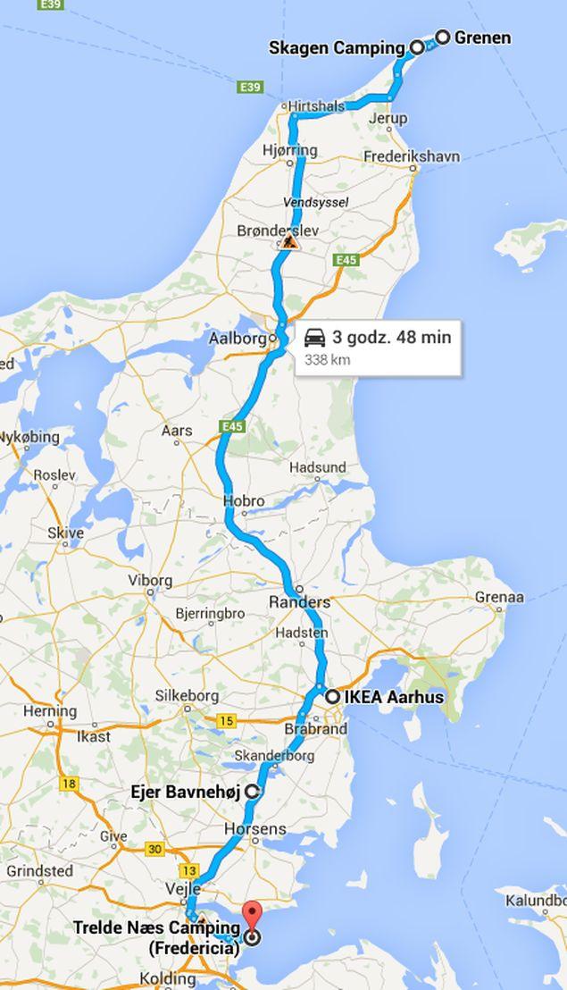 Jutlandia Wschodnia - ze Skagen do Treldenaes