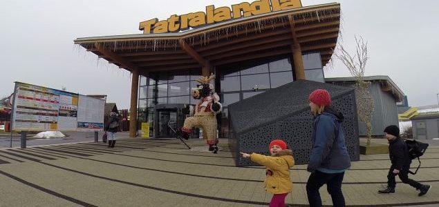Aquapark Tatralandia zimą